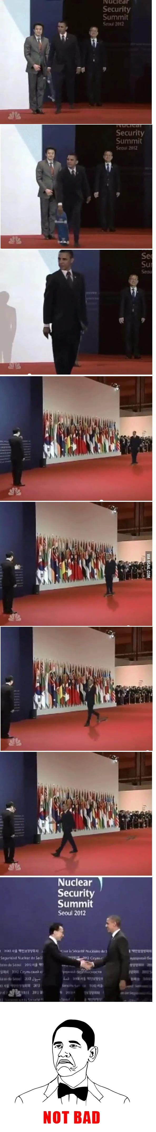 Obama like a boss