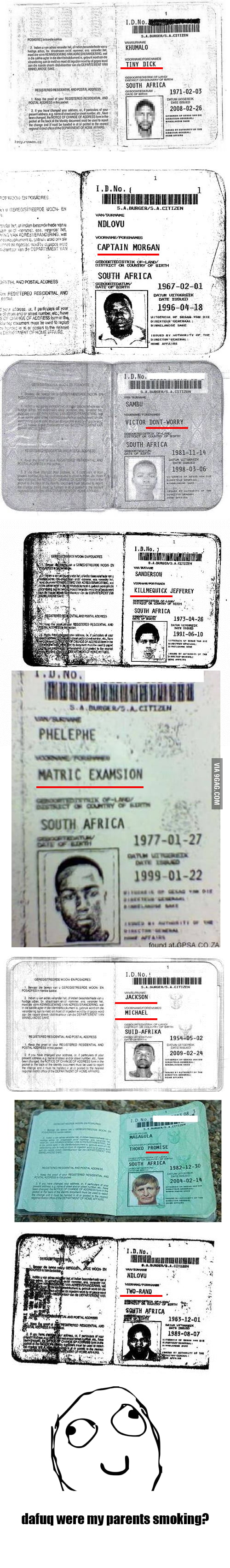 Meanwhile in South Africa...