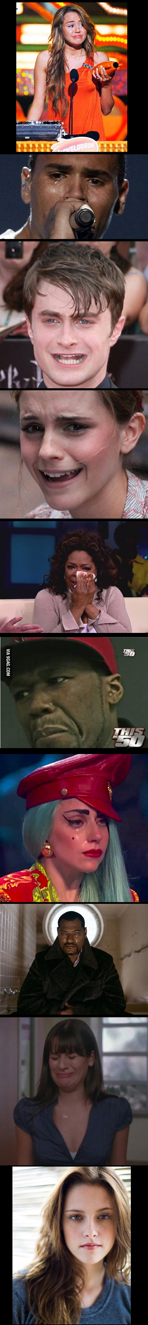 Some Celebrities Crying