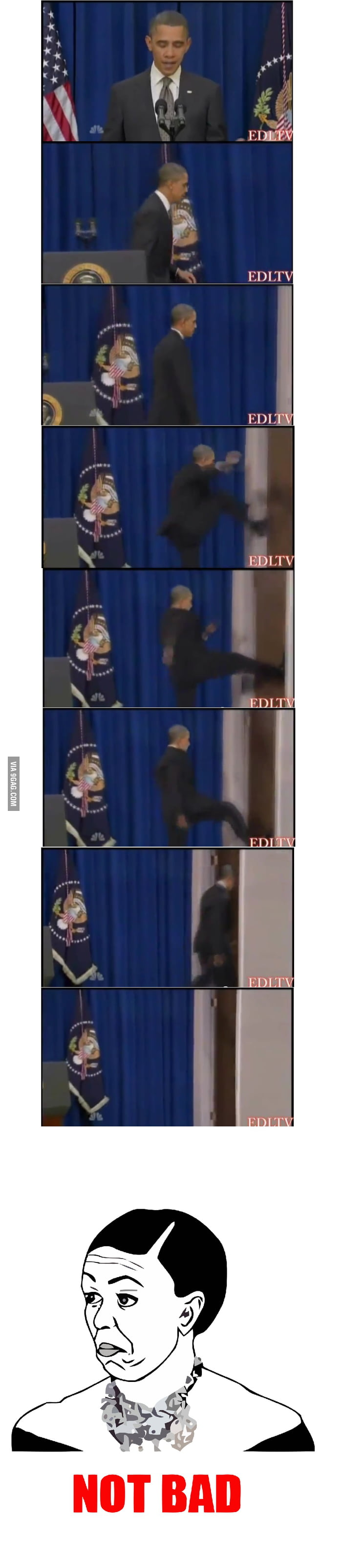 Just Obama being awesome...