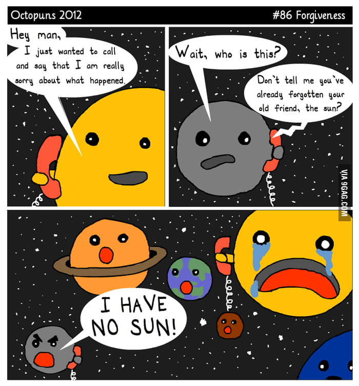 I have no sun!