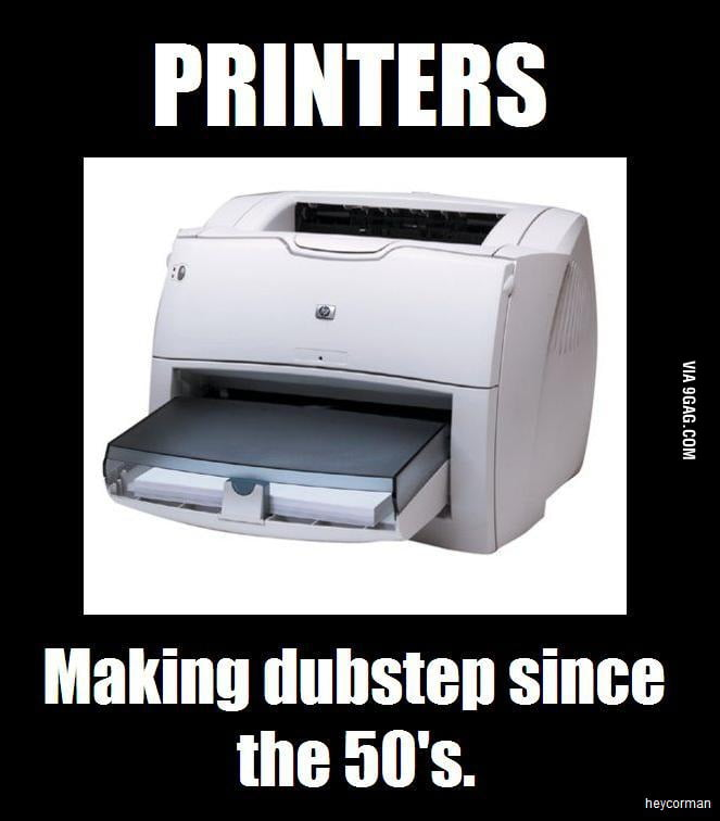 Hipster Printers