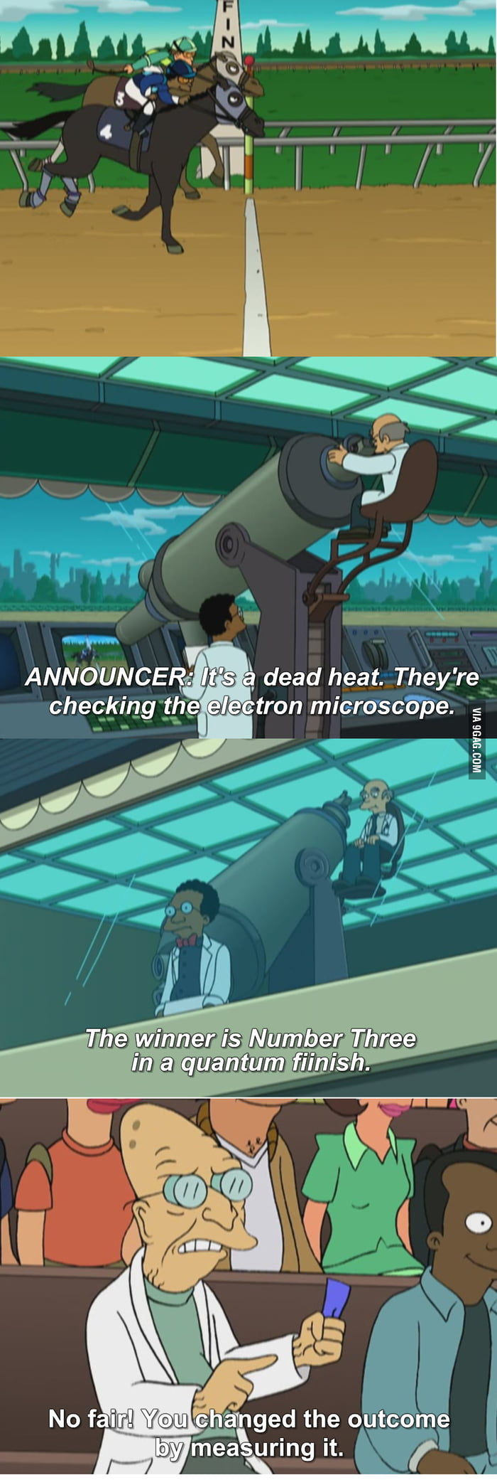 Futurama and briefly Heisenberg Principle