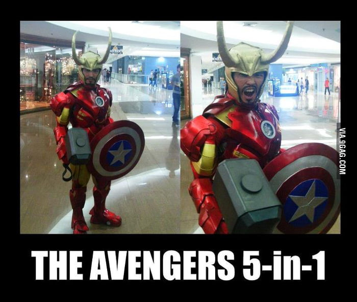 Avengers in One!