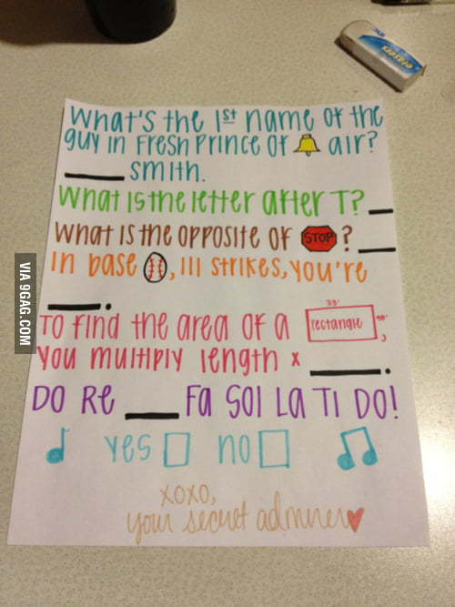 Asking out like a boss...