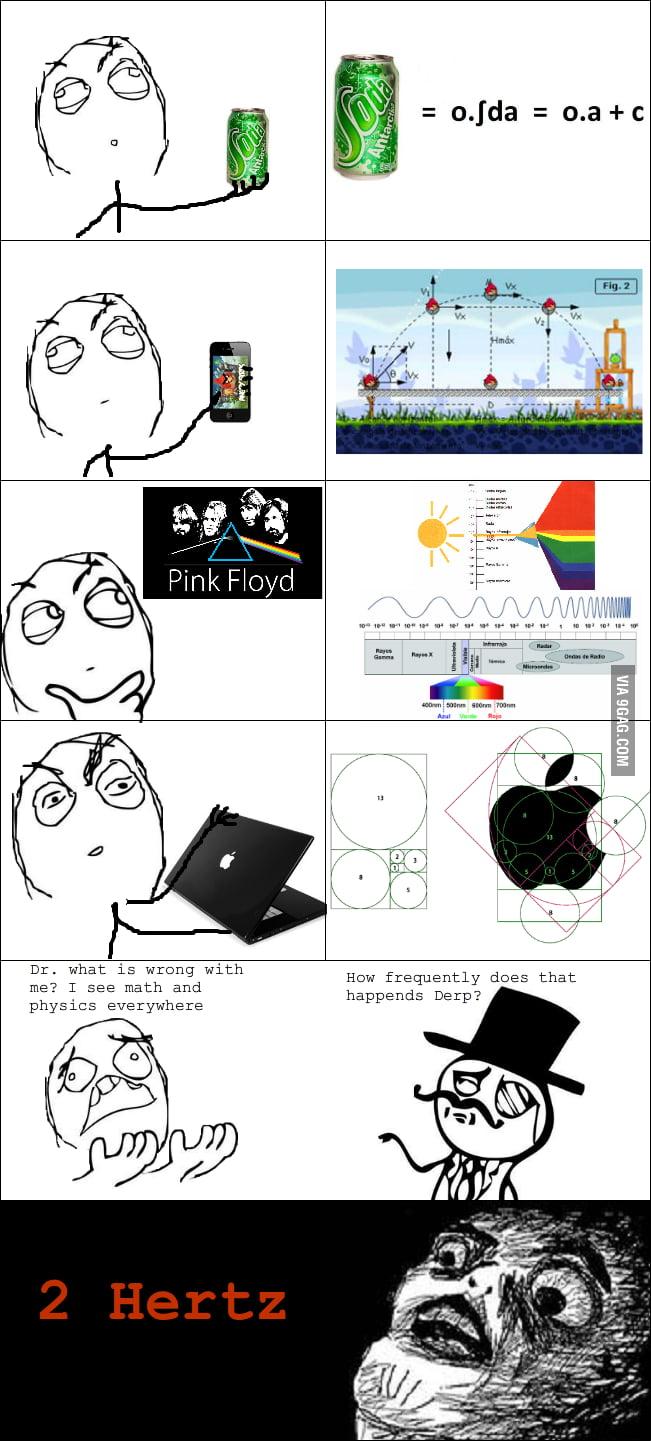 I see math and physics...