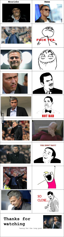 Mourinho in memes