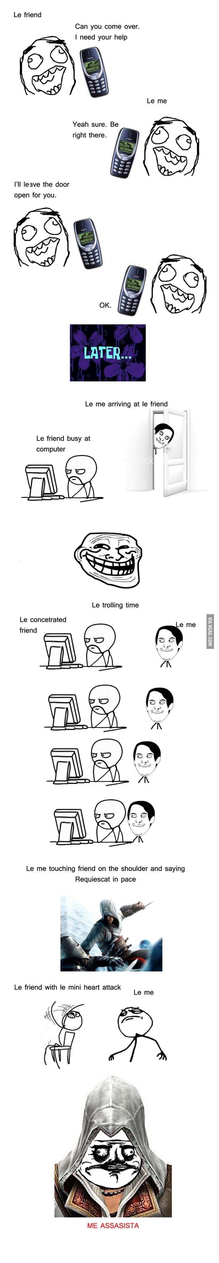 Me assassigusta Reloaded