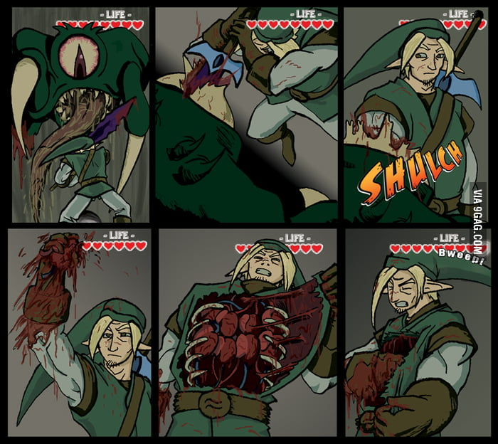 The Legend of Zelda - Crude Version