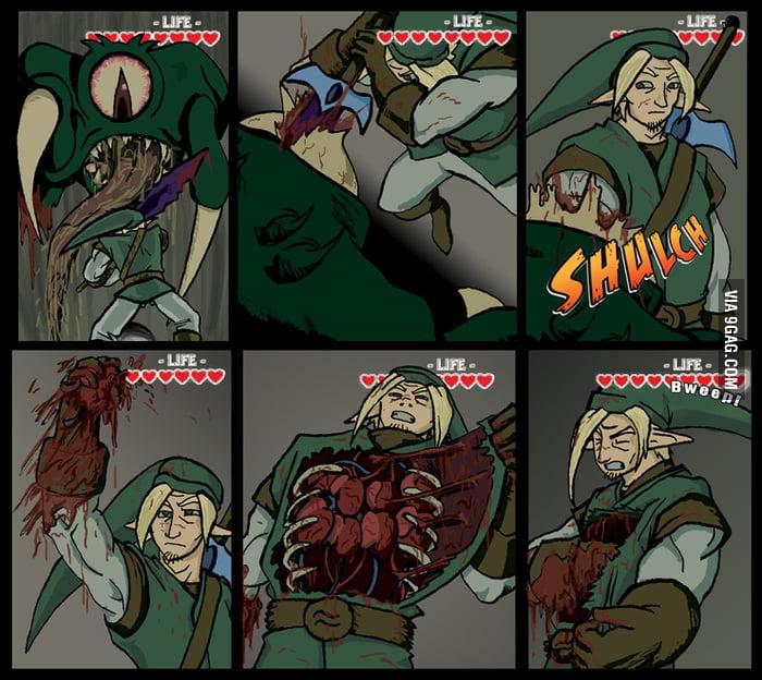 The Legend of Zelda - Crude Version