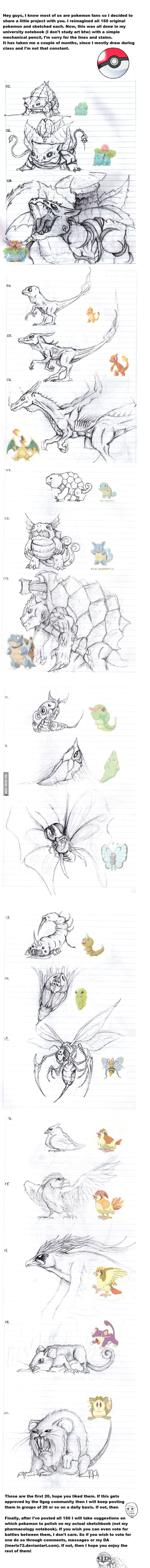 Pokemon Reimagined