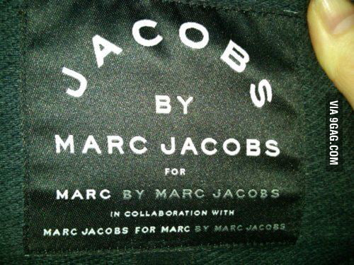 Genius Marc Jacobs Is genius