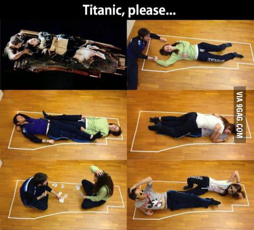 Titanic, please..