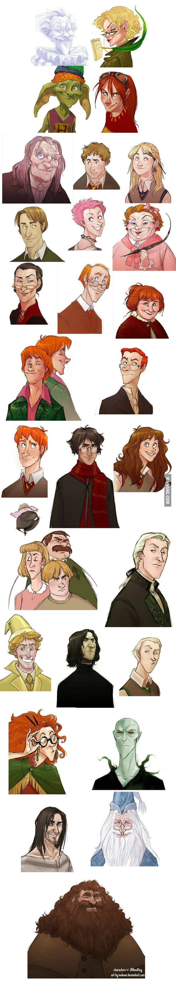 Harry Potter as a Disney movie