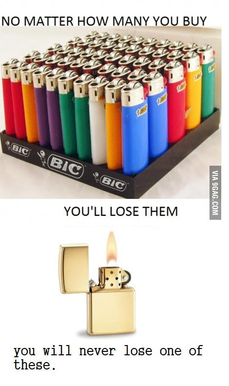 You will never lose this lighter