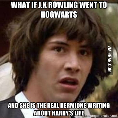 What if J.K Rowling...