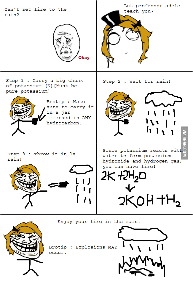 Chemistry lesson with Adele