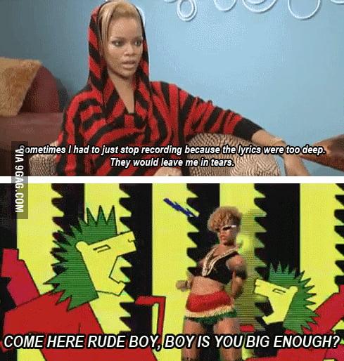 Just Rihanna