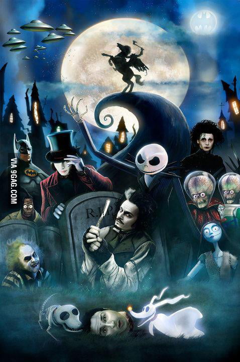 Tim Burton's movies