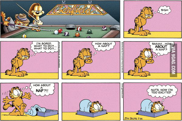 Epic Garfield is epic.