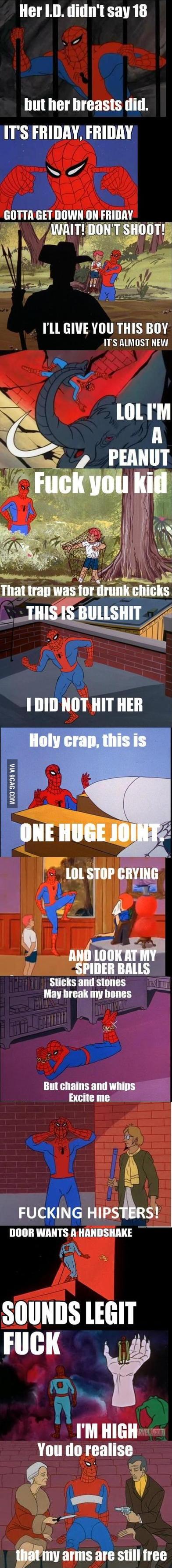 Spiderman compilation