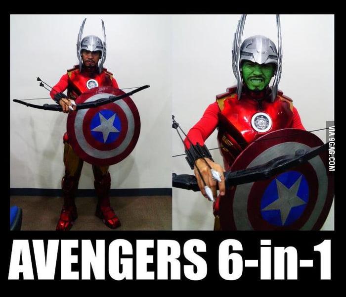 Avengers 6 in 1