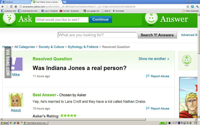 Is Indiana Jones real?