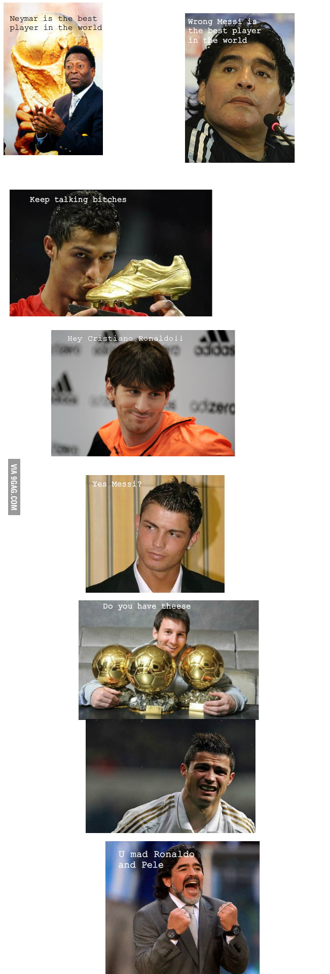 Just C.Ronaldo got trolled