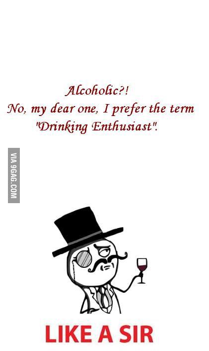 Alcoholic?!