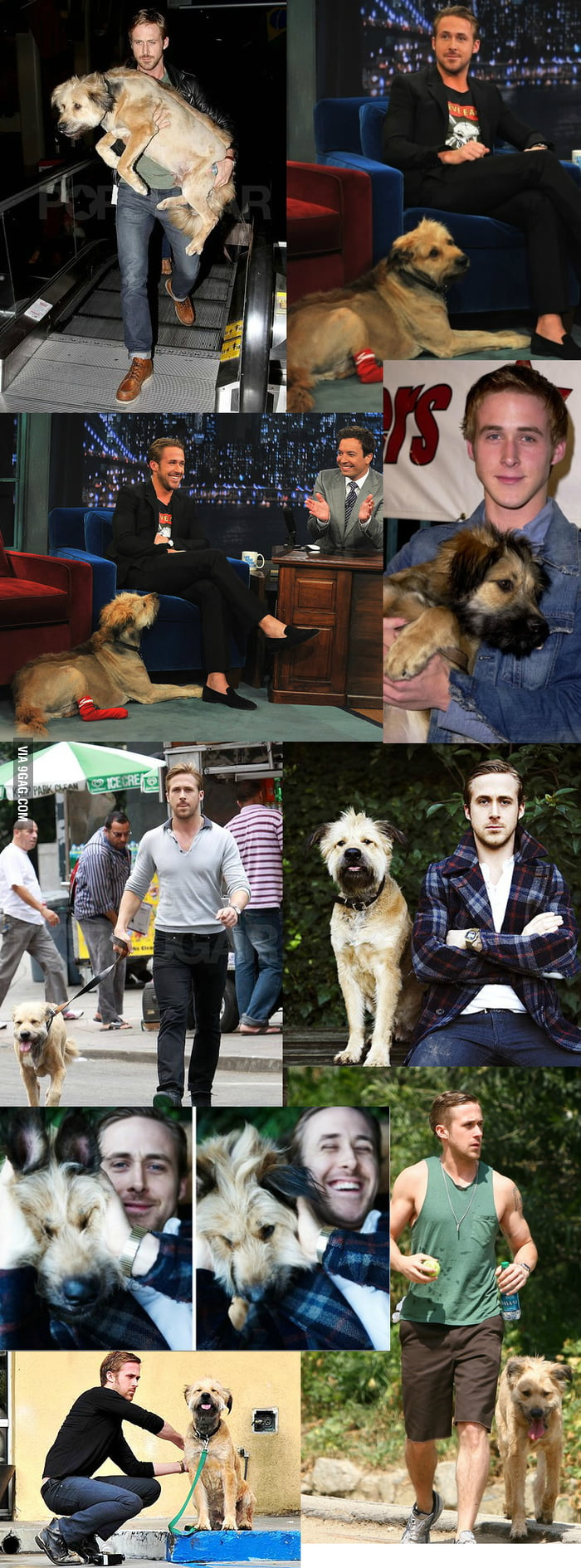 Just Ryan and his dog George