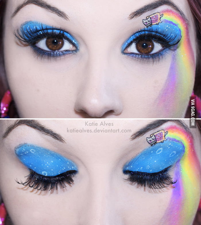 Nyan Cat Eyes