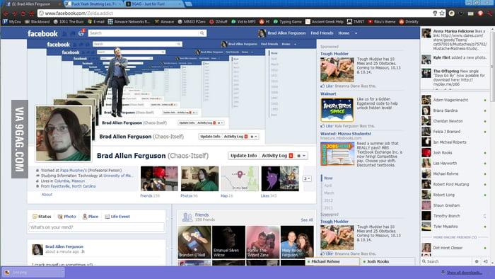 Facebook timelineception