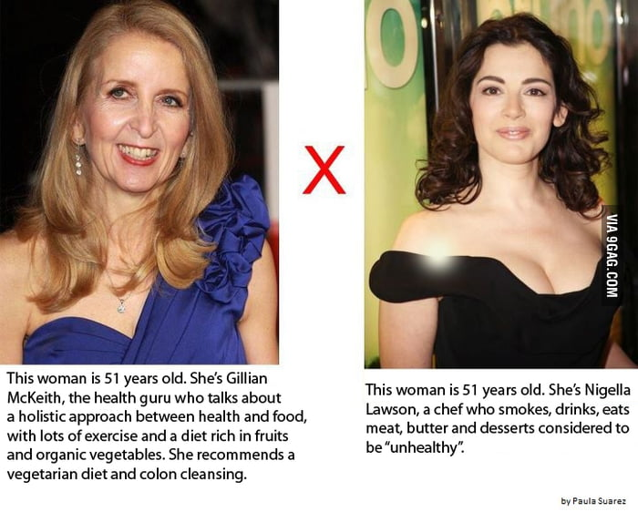 Gillian McKeith x Nigella Lawson