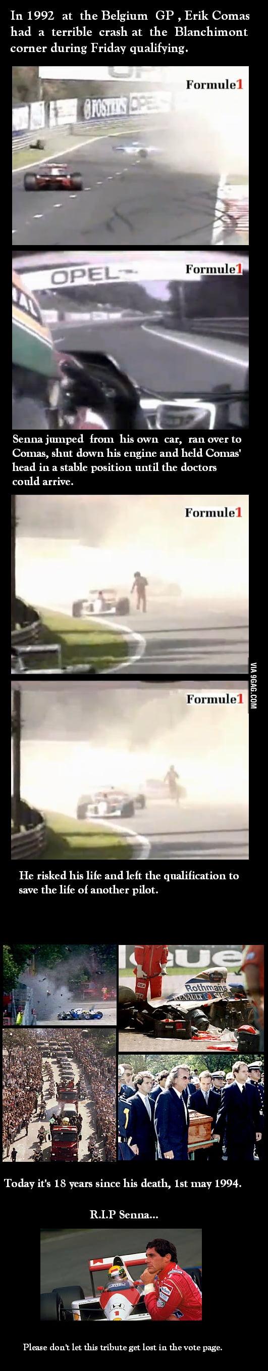 R.I.P. Senna