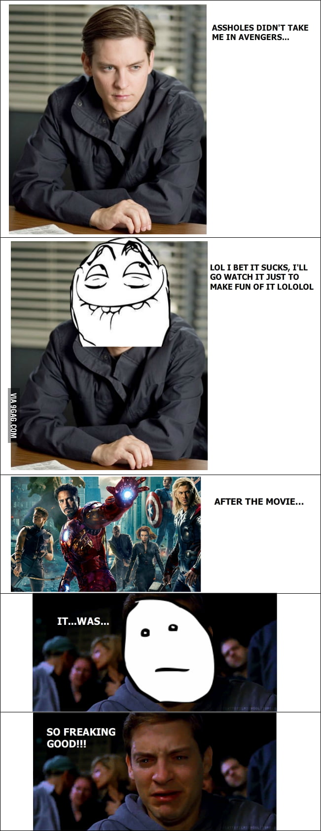 Peter Parker just has to accept it...