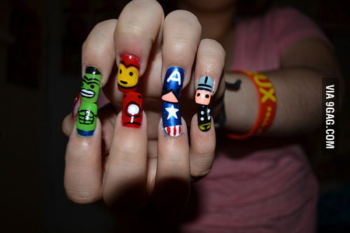 Awesome nails are awesome.