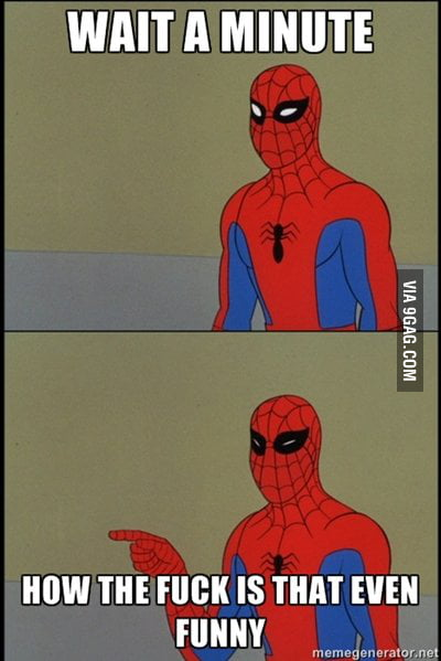 Oh spidey