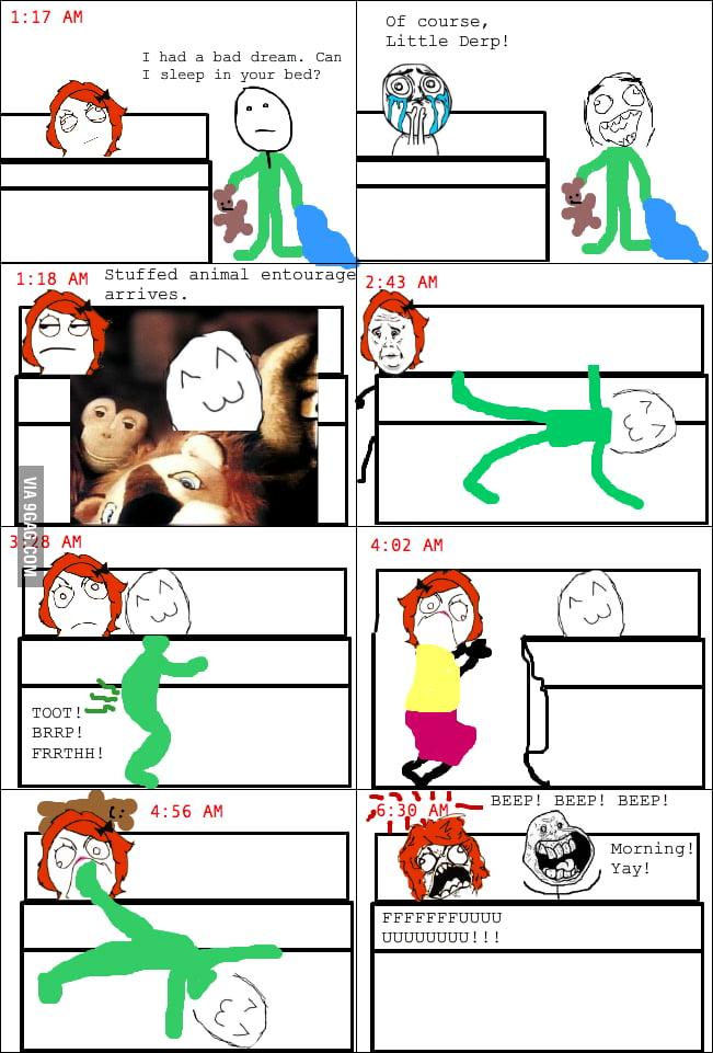 Parent sleep rage