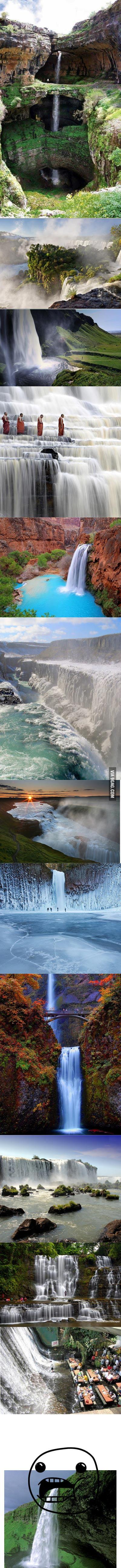 So you like waterfalls?