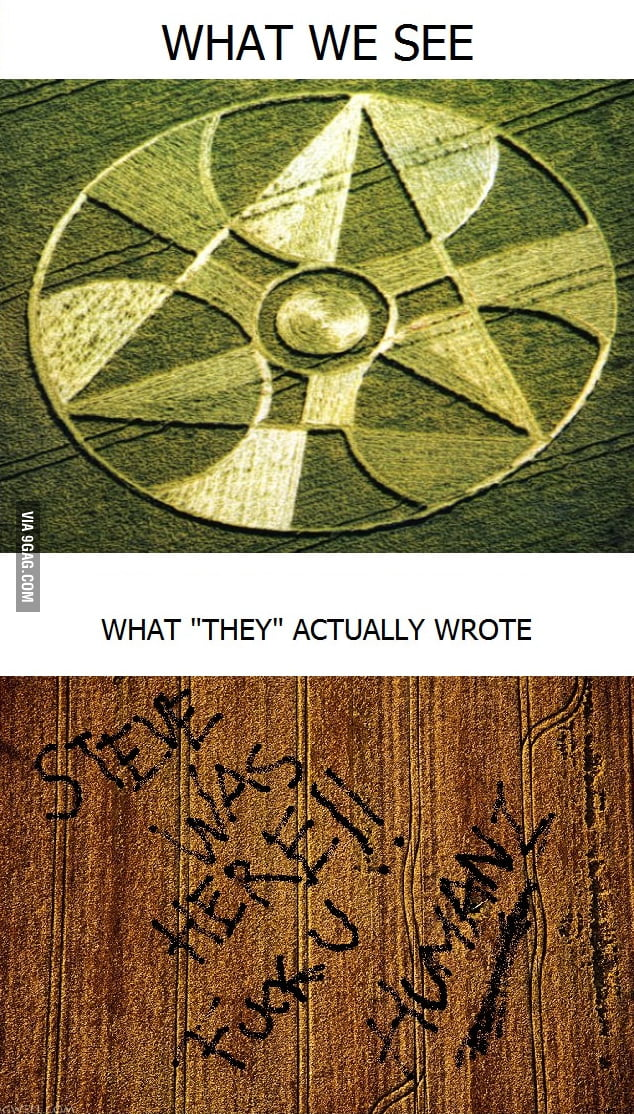 Intergalactic vandalism