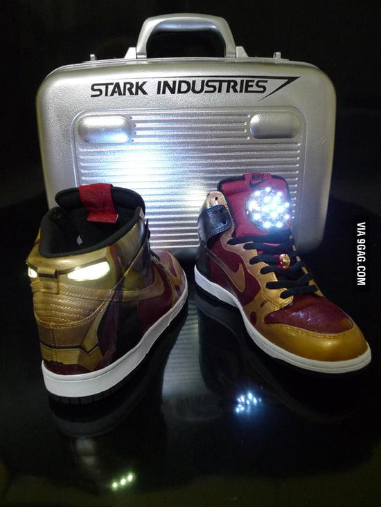 Iron Man Nike Dunk