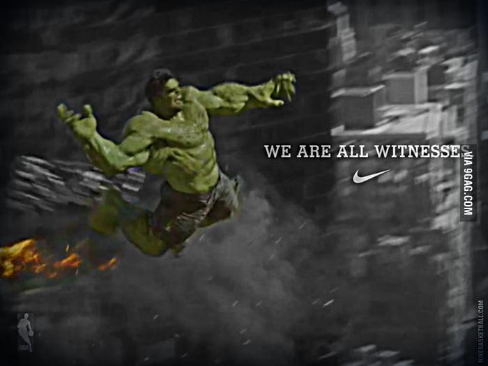 Hulk Dunk! Argggggh!