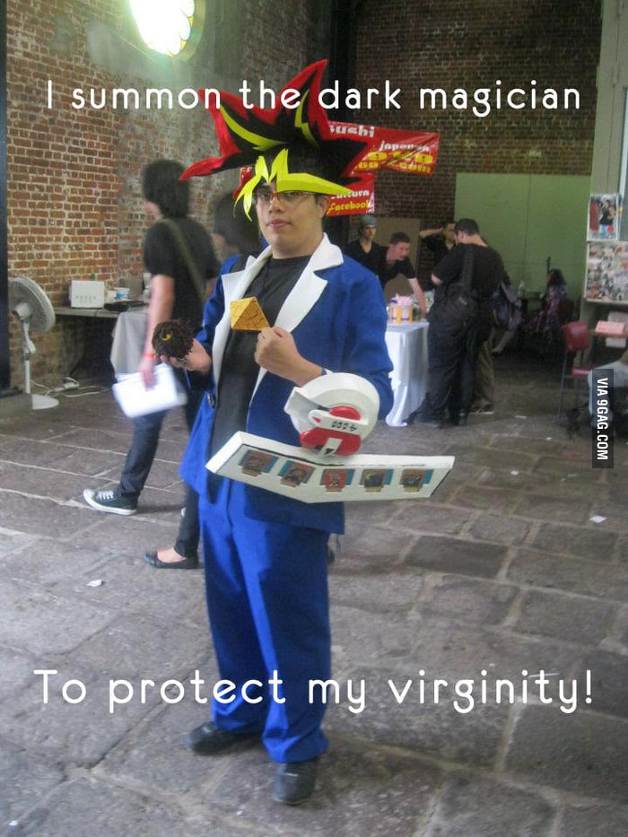 My virginity is protected!