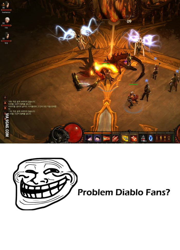 Diablo is already dead in asia. Problem?