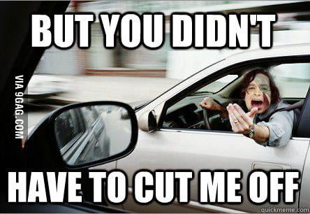 Gotye in traffic