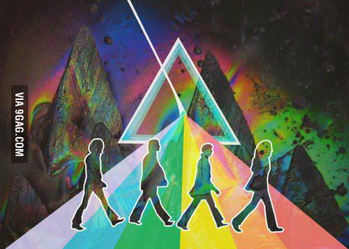 The dark side of Abbey Road