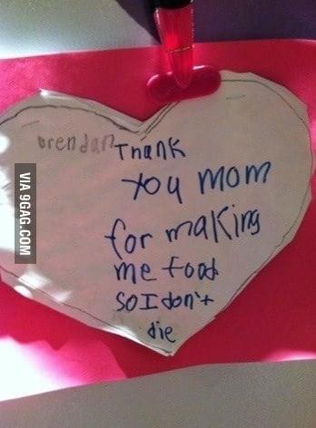 What a sweet mothers day card