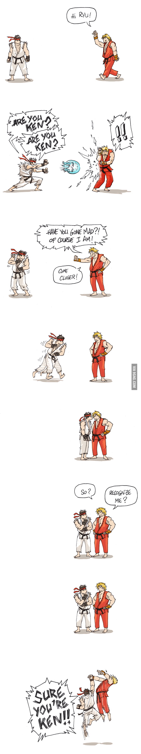 Just Street Fighter...