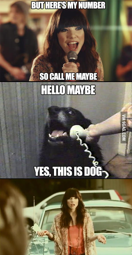 Call me maybe she said