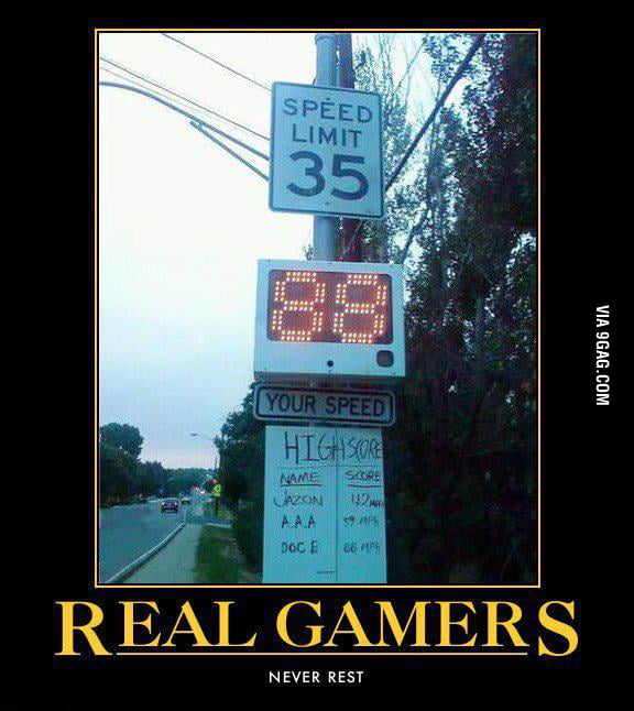 Gamers will be gamers.